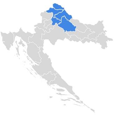 Vodu dostavljamo na području sjeverozapadne Hrvatske